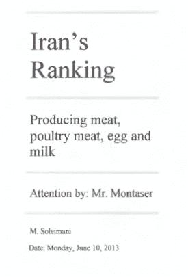 Irans Ranking